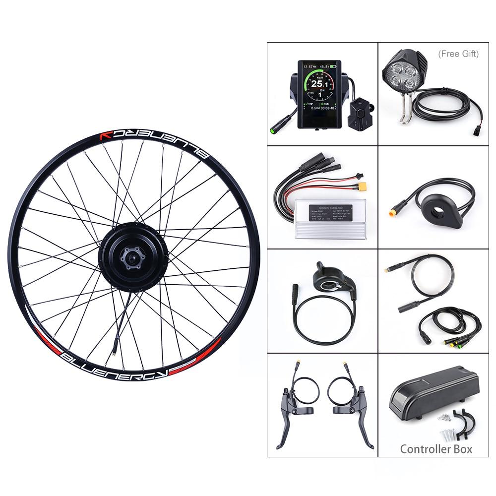 V24 V36 Electric Motorcycle Bicycle Throttle Brake Control Handle Bar Grip Black