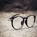 Kottdo rodada do vintage óculos mulheres homens óculos de leitura óculos de armações de óculos espelho pesca mypia vidros transparentes para o sexo feminino