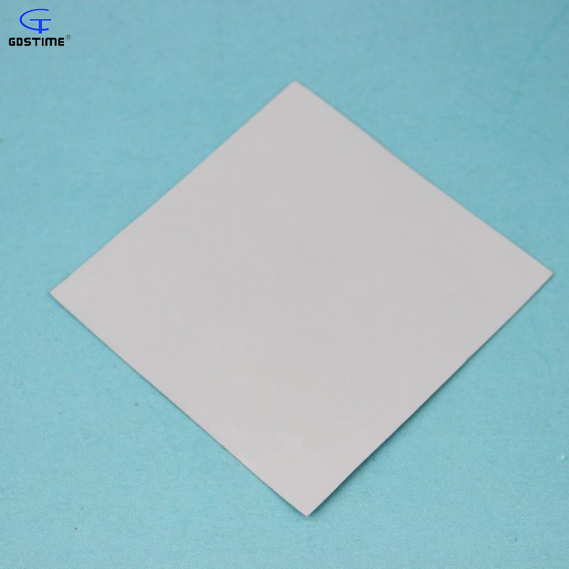 2 pcs Gdstime 100mm x 0.5mm Gray GPU CPU Heatsink Cooling Thermal Conductive Silicone Pad Soft 100x100x0.5mm synthetic graphite cooling film paste 300mm 300mm 0 025mm high thermal conductivity heat sink flat cpu phone led memory router