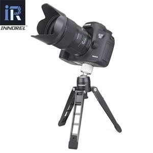 "Image 3 - PW50 mini ขาตั้งกล้องสนับสนุนวิดีโอ monopod โลหะยืดหยุ่นขาตั้งฐานเดสก์ท็อปตารางขาตั้งกล้อง 1/4"" 3/8 ""อะแดปเตอร์"