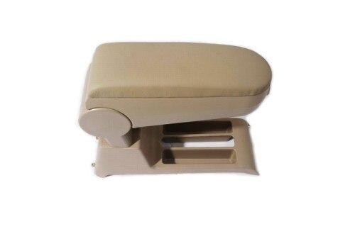 Центральной консоли подлокотник бежевая кожа для Поло 9N3 9 и