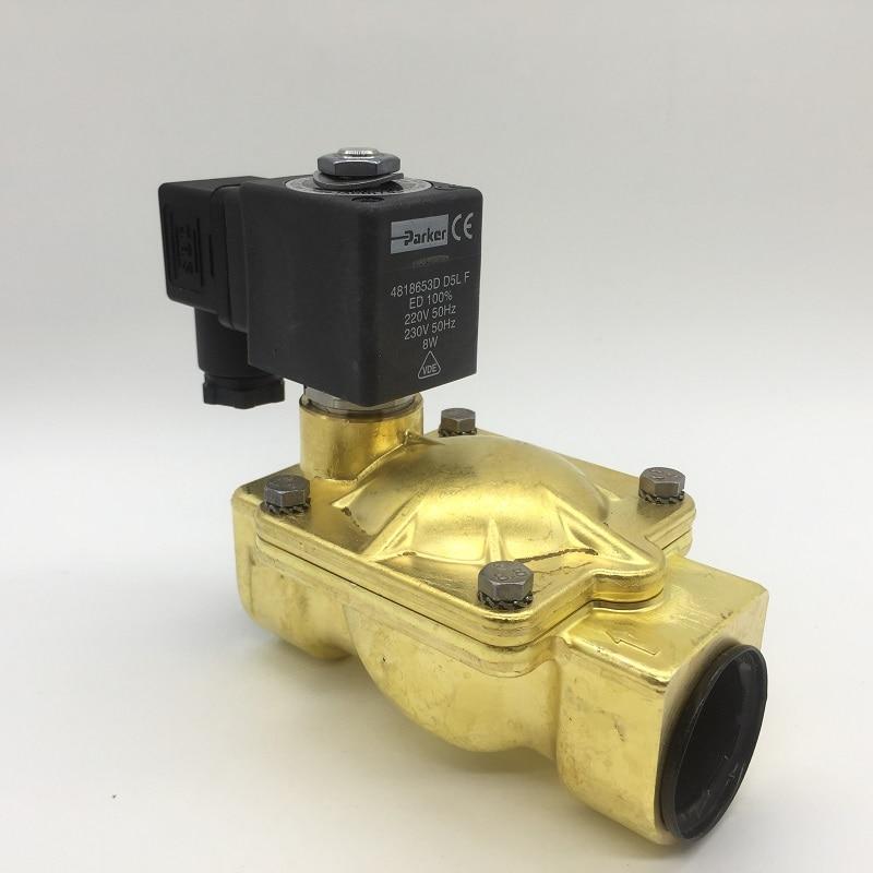 Genuine authentic parker solenoid valve 443782W 7321BCN00 with coil 481865C2 4818653D 481865A5 phs520d 02 110v d new parker solenoid valve 1 0 9 bar 0 1 0 9mpa