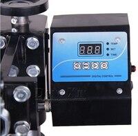 Free Shipping 110V/ 220v Mug/Plate/Stone photo/T shirt Heat press Machine Digital Control box Temperature control White or Black