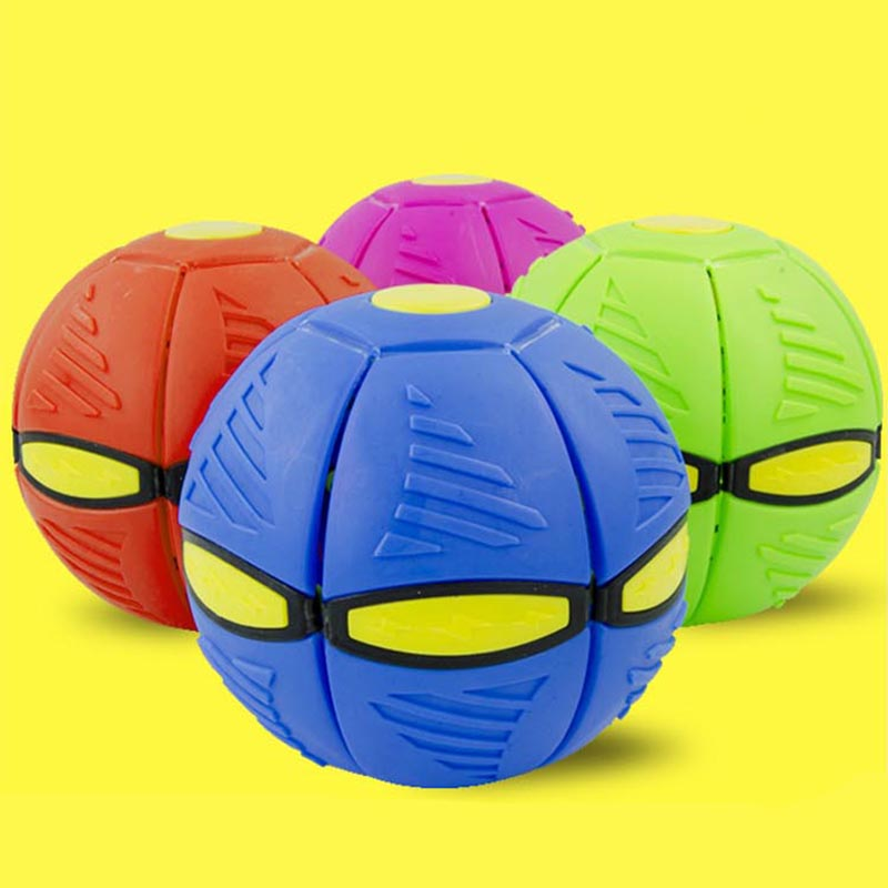 4 Type Outdoor Garden Beach Game Throw Disc Ball Toy Color Randomly Fancy Soft Novelty Flying UFO Flat Throw Disc Ball Toy Kid