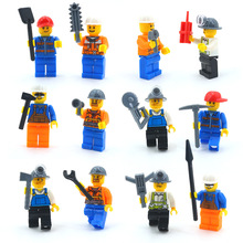 HOT Sale Urban workers City policemans Hermione Granger Lord Voldemort Ron Draco Malfoy Building Blocks Toys figures