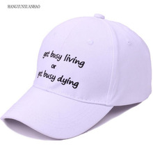 HANGYUNXUANHAO Embroidery Dad Hat Cotton Baseball Caps For Men Women Adjustable Hip Hop Snapback golf hats Bone Garros Casquette