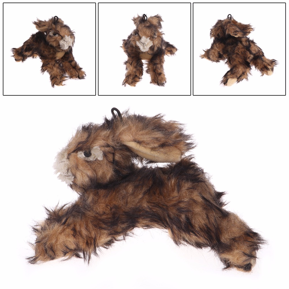 Pet Toy Plush Squeaky Toys Rabbit Chew Bite Squeaker Animal Sound For Dogs Cats Puppy Pet Supplies C42