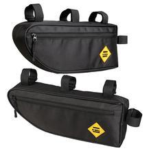 B SOUL велосипедная треугольная сумка, велосипедная Рама, передняя Труба, водонепроницаемая сумка для велоспорта, сумка для упаковки, аксессуары