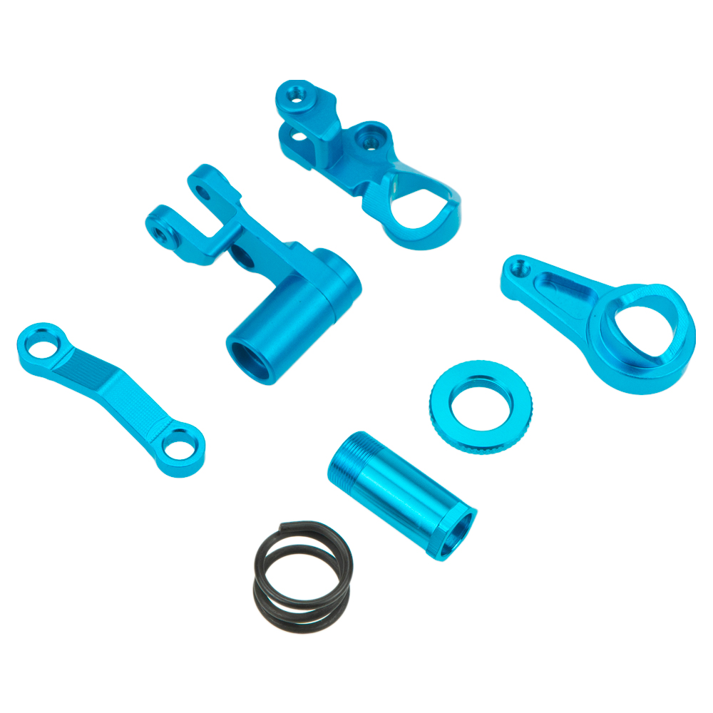 Color: Green Part /& Accessories 2PCS Aluminum Front//Rear Servo Link Steering for rc 1//10 Traxxas Slash 5807 Stampede 2pcs Alloy Upgraded Hop-up Parts Parts