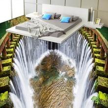 Custom Mural Wallpaper Stereo Waterfall