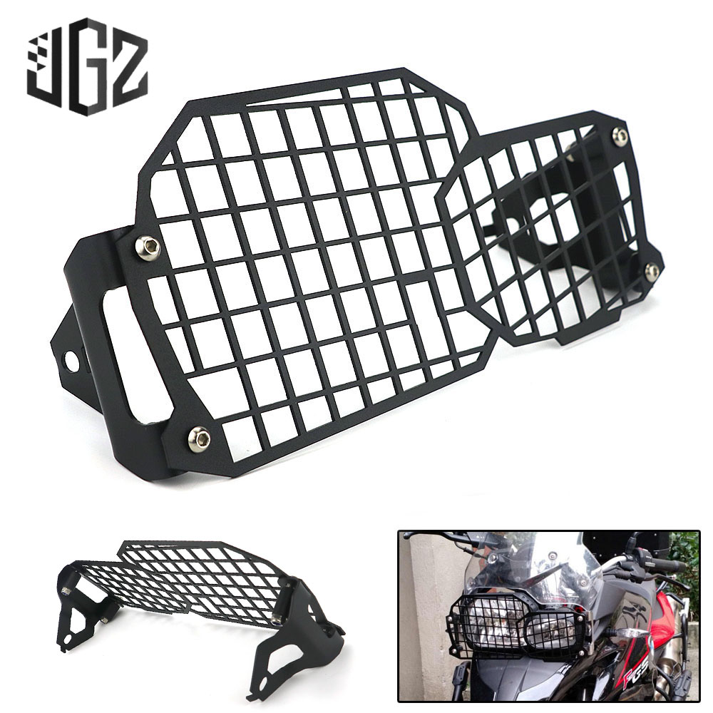 Motorcycle Front Headlight Protector Cover Guard Light Net Lamp Grille for BMW F800R F800GS F700GS F650GS