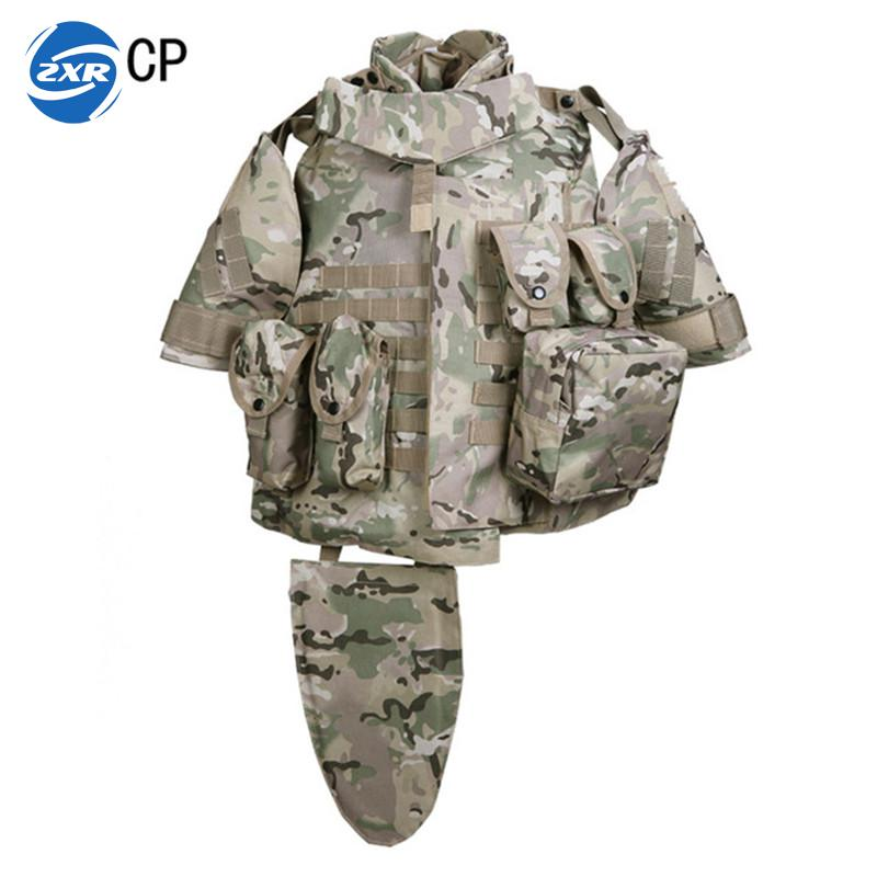 Camouflage Tactical Vest Mens Hunting Vest Outdoor Black Training Military Army Swat Mesh Vests Protective Equipment