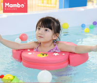 Need not inflate 1 6 years old kids baby swimming neck ring seat circle floats accessories swimming pool child infant swim vest