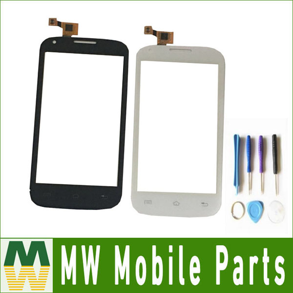 1PC/ Lot For Fly IQ4406 IQ 4406 ERA Nano 6 Touch Digitizer Touch Screen Replacement Black White Color with tools