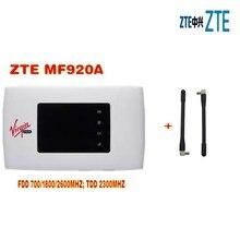 ZTE MF920A 150 MBps 4G LTE Mobilen WiFi WLAN Tasche Hotspot Router ENTSPERRT plus 2 stücke antenne