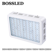 BOSSLED 1000W 800W 600W 300W Full Spectrum LED Grow light For Medical Flower Plants Vegetative and Flowering Stage Plants