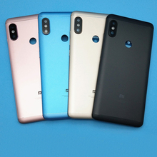 Fingerprint Sensor Back Housing For Xiaomi MI Redmi Note 5 Battery Cover Case Note5 with Side Keys Camera Glass