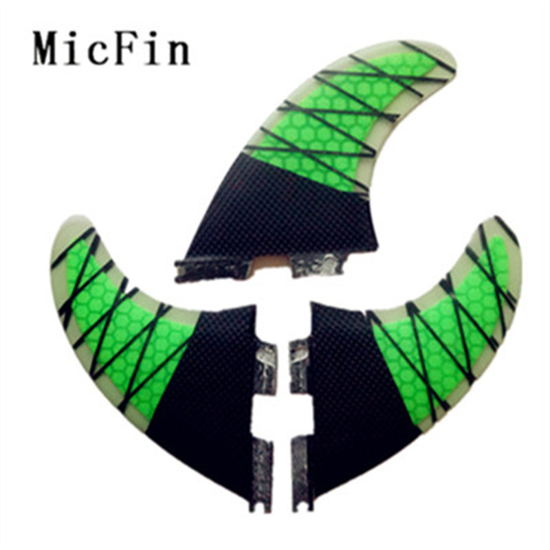 Micfin FCS2 Fins G5 Fiberglass honeycomb carbon Surf Fins FCS II Surfboard Fin pranchas de surf quilhas fcs 2 surfing fin 10 inch surfing longboard fins quilhas paddle surfboard longboard fins fiberglass wakeboard fins