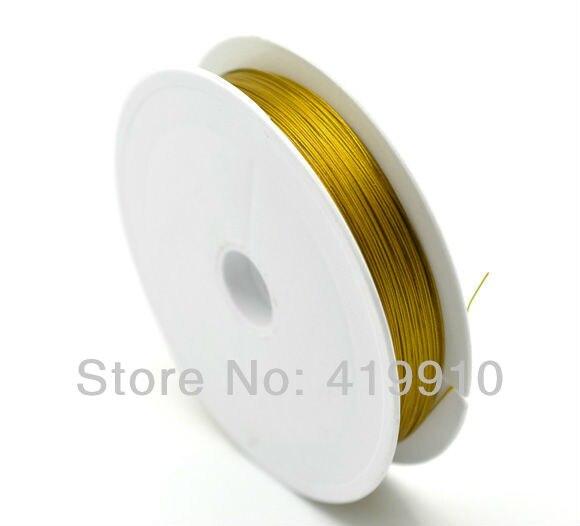 7abdbf2ba631 ⑥Tono oro acero rebordeando Alambres 0.45mm