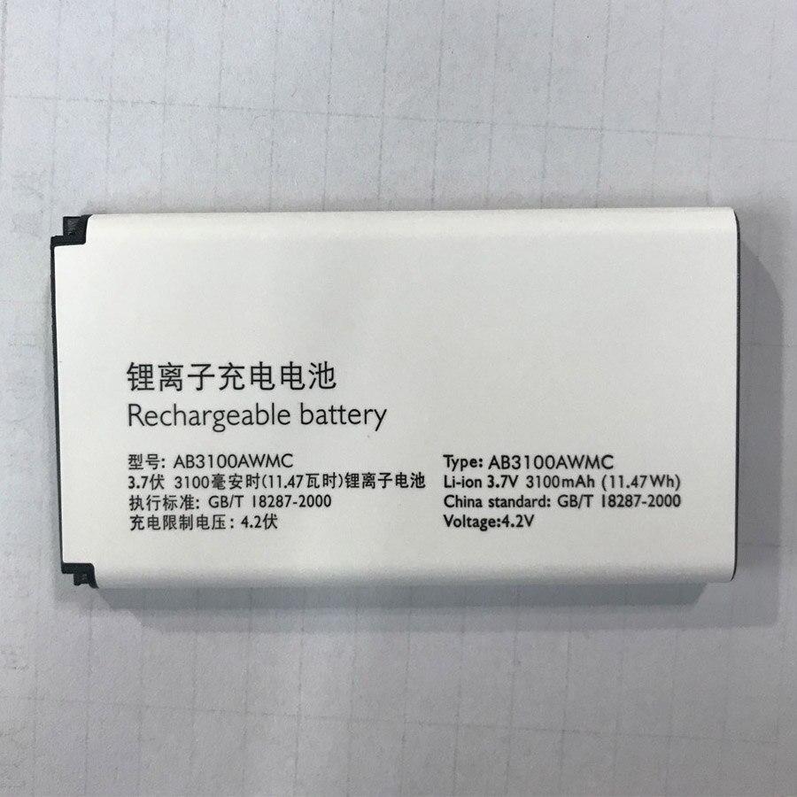 Batería Para PHILIPS Xenium AB3100AWMC AB3100AWMT E181 E180 CTE181 CTE180 Smartphone/teléfono Móvil Inteligente + Número de seguimiento