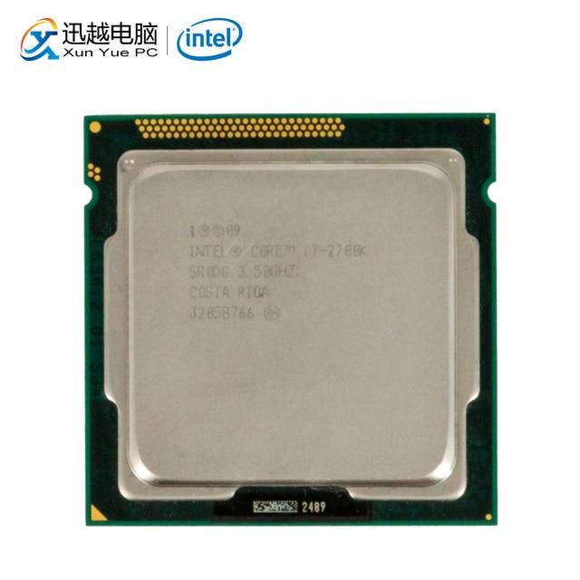 Intel Core i7-2700K настольный процессор i7 2700K четырехъядерный процессор 3,5 ГГц 8 МБ кэш L3 LGA 1155