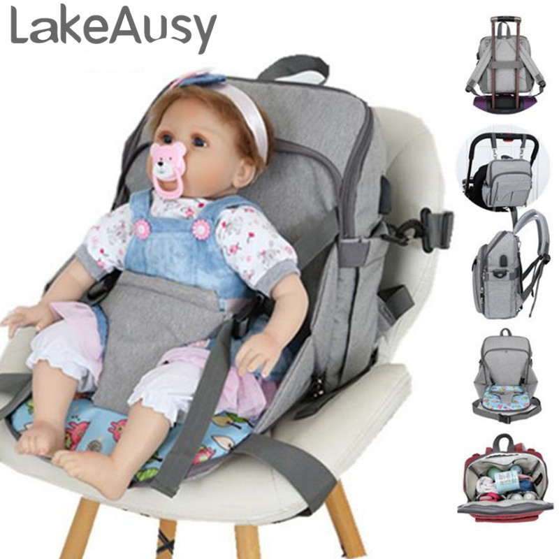 Large Capacity Mummy Maternity Nappy bag Protable baby Diaper Bag infant nursing Stroller Handbag baby nappy bag Baby Care