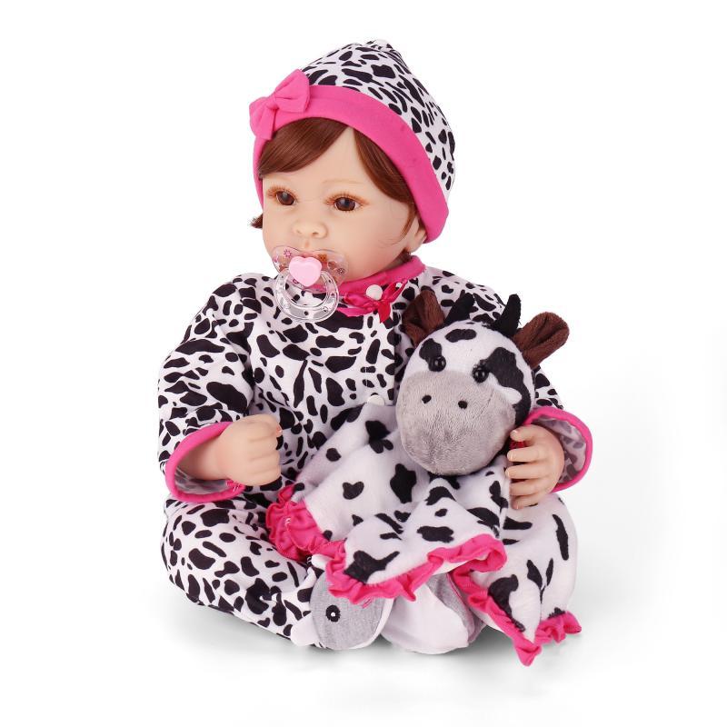 NPK simulation reborn baby doll with soft real gentle touch cute soft vinyl silicone reborn dolls kidsplaymates