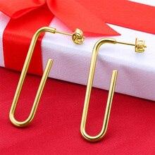 hot deal buy 2018 new jing yang earrings fashion jewelry u-shaped earrings custom earrings bridal earrings fashion jewelry