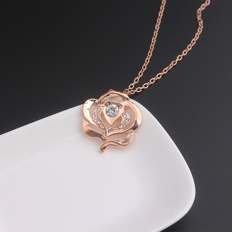fullxfull necklace listing final rose and flower zoom the beast hiyx il beauty