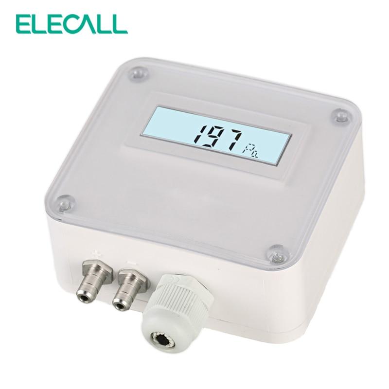 ELM110/112/116  micro differential pressure transmitter Air pressure transmitter pressure sensor 100-1000paELM110/112/116  micro differential pressure transmitter Air pressure transmitter pressure sensor 100-1000pa