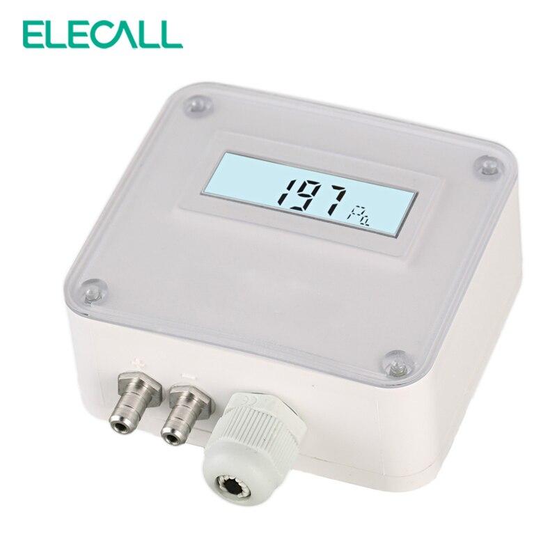 ELM110/112/116  Micro Differential Pressure Transmitter Air Pressure Transmitter Pressure Sensor 100-1000pa