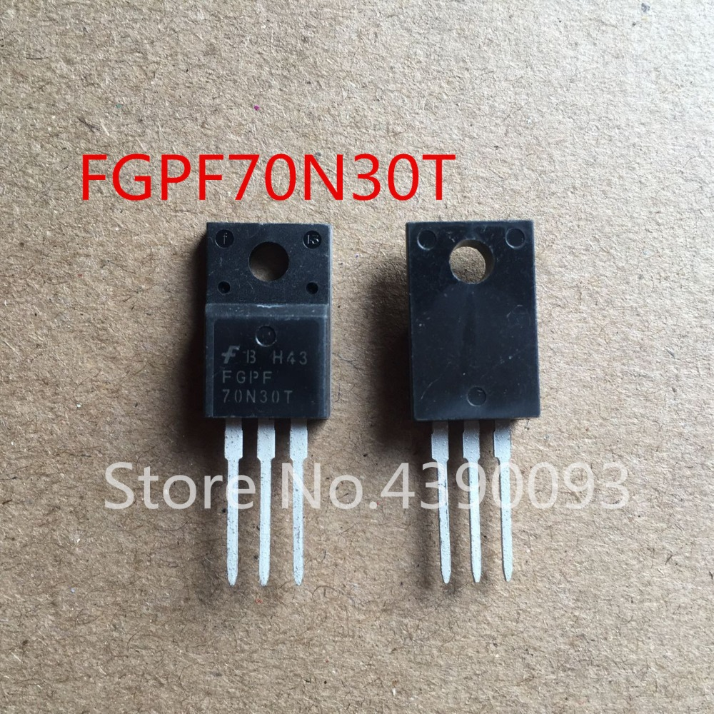 100pcs/lot 70N30T FGPF70N30T TO220 l7805cv to220
