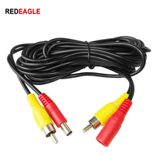 REDEAGLE CCTV RCA Video Cable 5M 10M 20M 2IN1 DC in Video/Audio out Extension Cable For Analog Security Camera DVR System