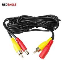 Échanger le câble vidéo CCTV RCA 5M 10M 20M 2IN1 cc dans le câble dextension vidéo/Audio pour le système DVR de caméra de sécurité analogique