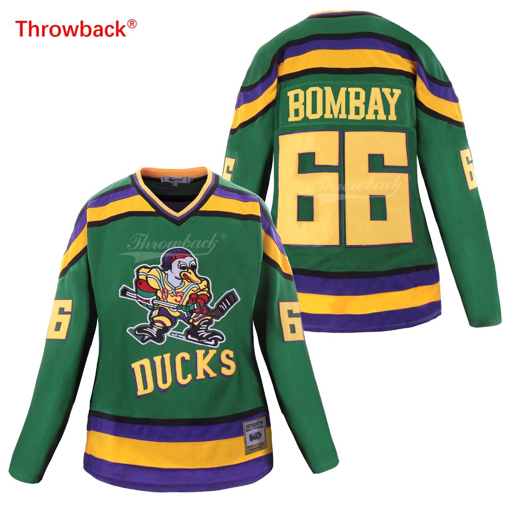 ducks throwback jersey