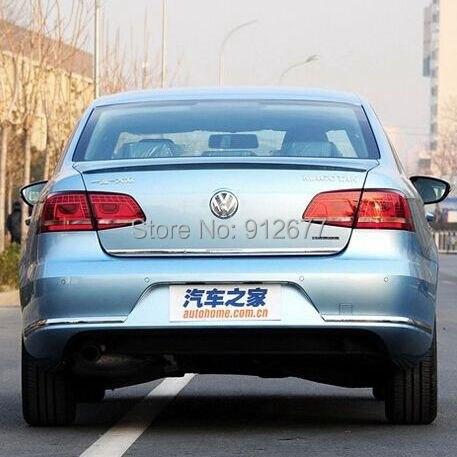 ABS car spoiler Volkswagen Passat B7 2013,New wing VW paint color stock  -  modification center store