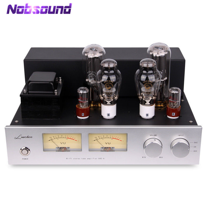 300B Push 845 Hi-Fi Vacuum Tube Power Amplifier Class A Stereo Valve Amplifier 25W+25W hi end 300b valve