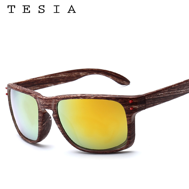 TESIA Brand Designer Wood Sunglasses Men Women Outdoors Glasses - Apparel Accessories - Photo 4
