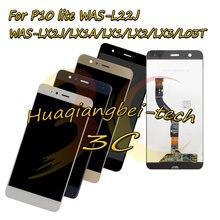 Nowy dla Huawei P10 lite wyświetlacz LCD + ekran dotykowy Digitizer zgromadzenie dla Huawei WAS-L22J / LX2J / LX1A / LX1 / LX2 / LX3 / L03T