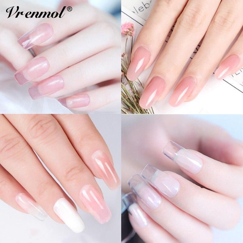 Vrenmol Polygel 6 Colors Extension Builder Gel Polish French Nails ...