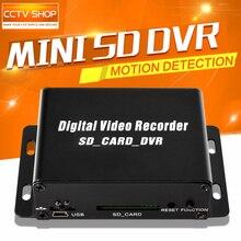 2016 Горячие Продажи 1CH Mini DVR CCTV Камеры Безопасности Аудио/Видео SD Card DVR CCTV Записи Обнаружения Движения DVR Рекордер D1 640*480