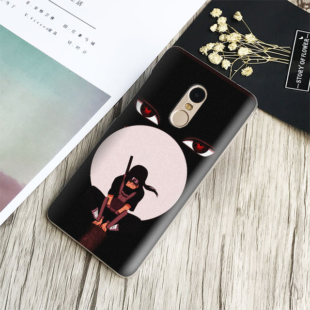 Itachi Uchiha Naruto Anime Phone Case for iPhone