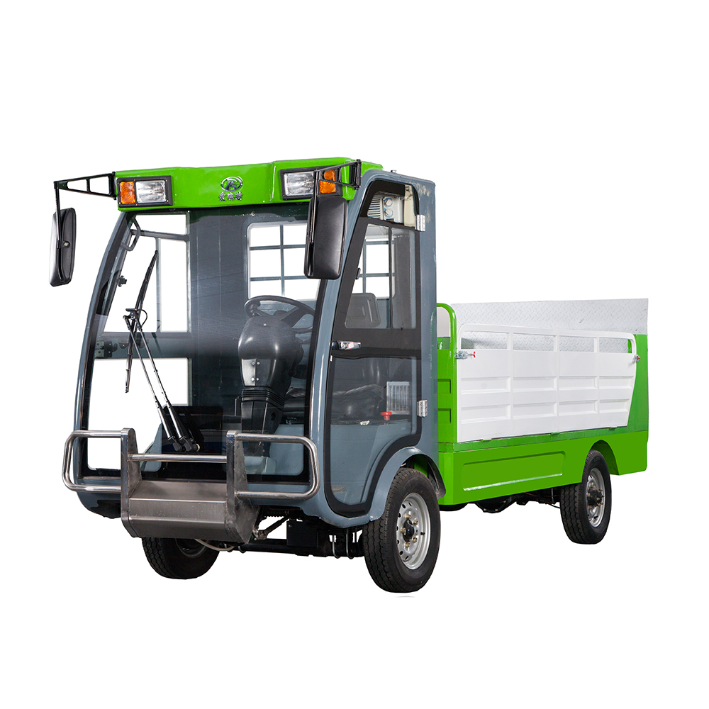 Electric Garbage Back Loading Truck ART Y10 Cheap Big Low Price