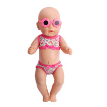 Zapf babies born 3 piece clothes glasses baby clothes for 43 cm the child s best