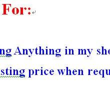Ссылка для определения разницы в заказах или размещения заказов на любые товары в моем магазине и т. Д