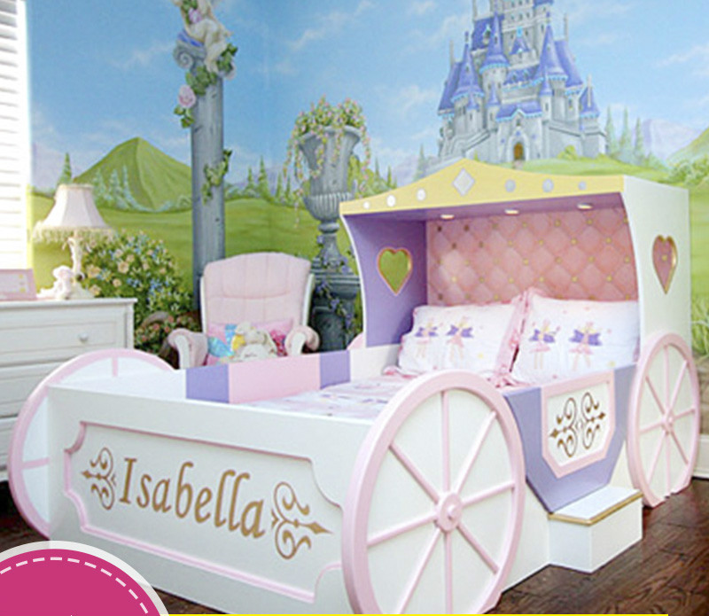 Custom Wood Boy Girl Children Suite Furniture Pumpkin Carriage Creative  Painting. Compare Prices on Girls Furniture Bedroom Sets  Online Shopping