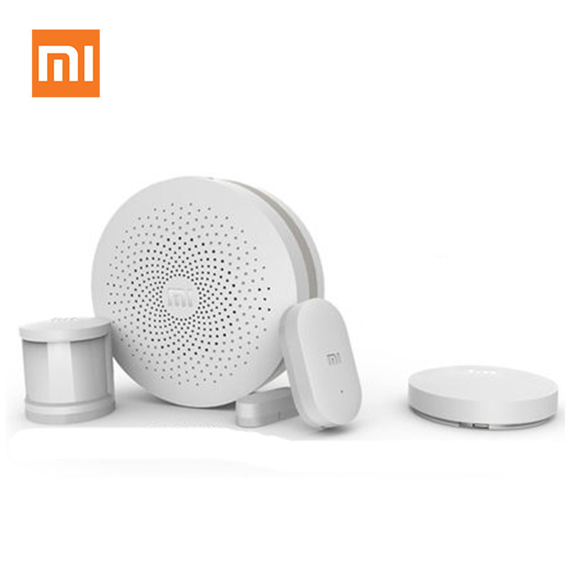 Original Xiaomi Smart Home Kit Intelligent Gateway Wireless Switch Human Body Se