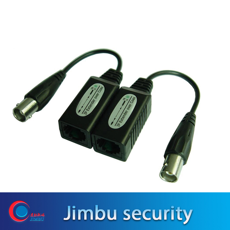 1CH Passive IP Camera Extender Over Coax,Transmit IP Camera Signal Over Existing Coaxial Cable,Max Up To 200M