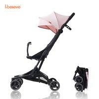 Я. believe Детские коляски I S005 Портативный легкий 5 точки harnes Складная Детские коляски для 7 36 месяцев