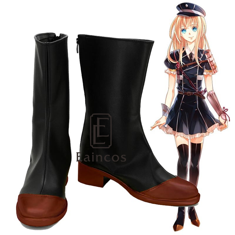 Touken Ranbu Online Midare Toushirou Boots Cosplay Party Shoes Customized Size